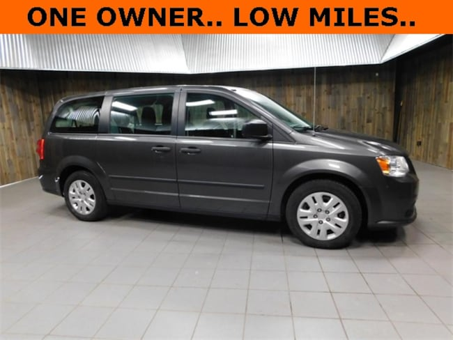 Used 2016 Dodge Grand Caravan AVP/SE Van for Sale in Plymouth, IN at Auto Park Buick GMC