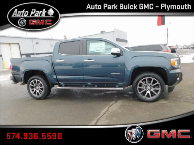 New 2019 GMC Canyon Denali Truck Crew Cab 1GTG6EEN0K1159452 for Sale in Plymouth, IN at Auto Park Buick GMC