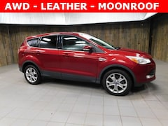 Used 2013 Ford Escape SEL 4WD SUV 1FMCU9H91DUB49598 for Sale in Plymouth, IN at Auto Park Buick GMC