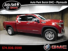 New 2019 GMC Sierra 1500 SLT Truck Crew Cab 3GTU9DED1KG115084 for Sale in Plymouth, IN at Auto Park Buick GMC