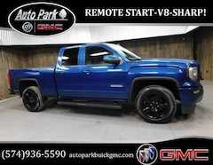 Used 2017 GMC Sierra 1500 Base Truck Double Cab 1GTV2LEC0HZ136558 for Sale in Plymouth, IN at Auto Park Buick GMC