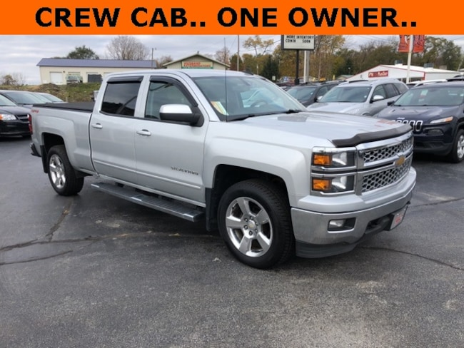 Used 2015 Chevrolet Silverado 1500 LT Truck Crew Cab for Sale in Plymouth, IN at Auto Park Buick GMC