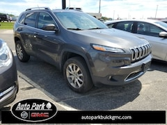 Used 2014 Jeep Cherokee Limited 4x4 SUV 1C4PJMDS7EW137567 for Sale in Plymouth, IN at Auto Park Buick GMC
