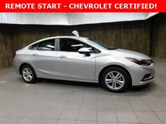 Used 2017 Chevrolet Cruze LT Auto Sedan 1G1BE5SM5H7116913 for Sale in Plymouth, IN at Auto Park Buick GMC