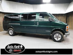 Used 2001 GMC Savana Van G3500 Extended Cargo Van 1GTHG39RX11201143 for Sale in Plymouth, IN at Auto Park Buick GMC