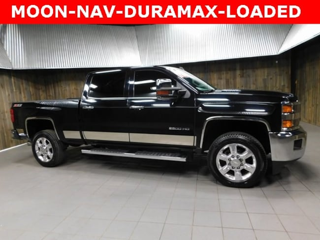 Used 2015 Chevrolet Silverado 2500HD LTZ Truck Crew Cab for Sale in Plymouth, IN at Auto Park Buick GMC