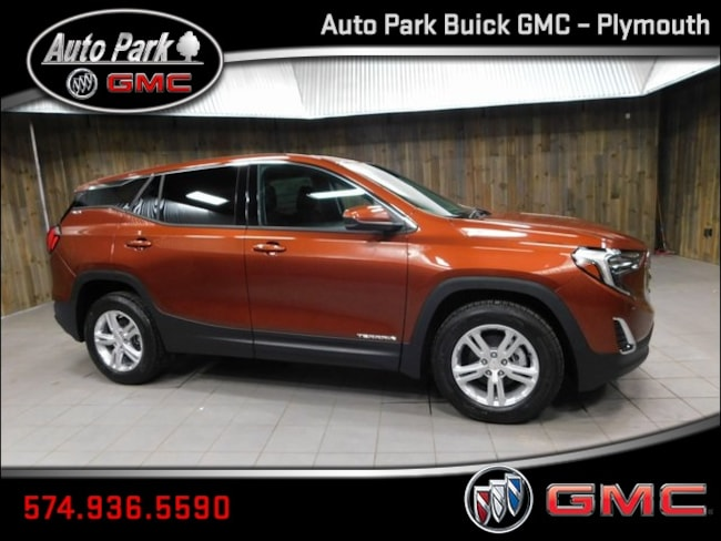 New 2019 GMC Terrain SLE SUV 3GKALMEV8KL259563 for Sale in Plymouth, IN at Auto Park Buick GMC