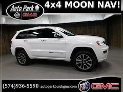 Used 2017 Jeep Grand Cherokee Overland 4x4 SUV 1C4RJFCG5HC784315 for Sale in Plymouth, IN at Auto Park Buick GMC
