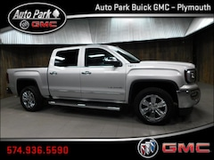 New 2018 GMC Sierra 1500 SLT Truck Crew Cab 3GTU2NEC8JG324676 for Sale in Plymouth, IN at Auto Park Buick GMC