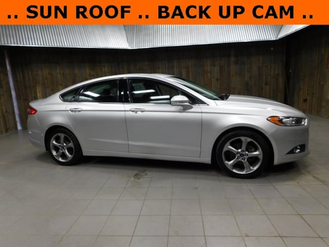 Used 2014 Ford Fusion SE Sedan for Sale in Plymouth, IN at Auto Park Buick GMC