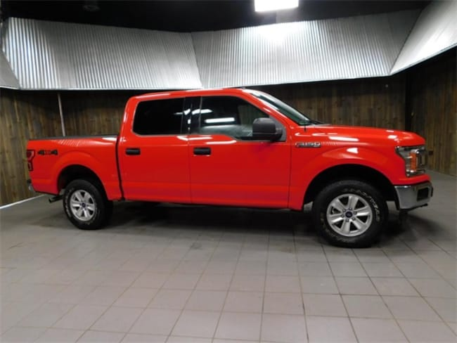 Used 2018 Ford F-150 Truck SuperCrew Cab for Sale in Plymouth, IN at Auto Park Buick GMC