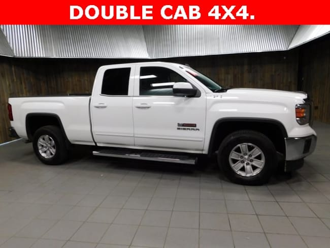 Used 2015 GMC Sierra 1500 SLE Truck Double Cab for Sale in Plymouth, IN at Auto Park Buick GMC