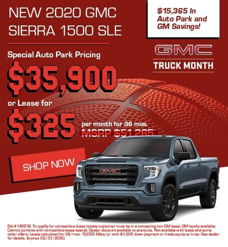 New 2020 GMC Sierra 1500 SLE | Sale