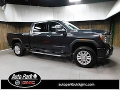 Used 2020 GMC Sierra 2500HD Denali Truck Crew Cab 1GT49REY0LF124460 for Sale in Plymouth, IN at Auto Park Buick GMC