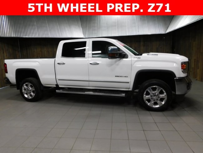 Used 2018 GMC Sierra 2500HD SLT Truck Crew Cab for Sale in Plymouth, IN at Auto Park Buick GMC
