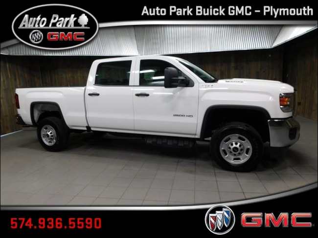 New 2019 GMC Sierra 2500HD Base Truck Crew Cab 1GT12NEY0KF115725 for Sale in Plymouth, IN at Auto Park Buick GMC