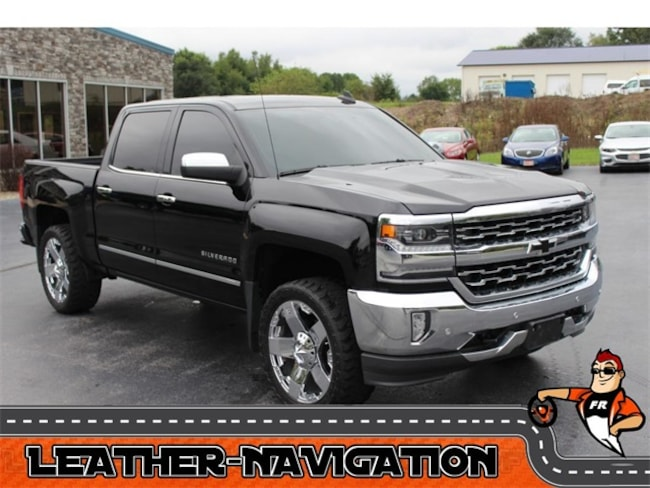 Used 2016 Chevrolet Silverado 1500 LTZ Truck Crew Cab for Sale in Plymouth, IN at Auto Park Buick GMC