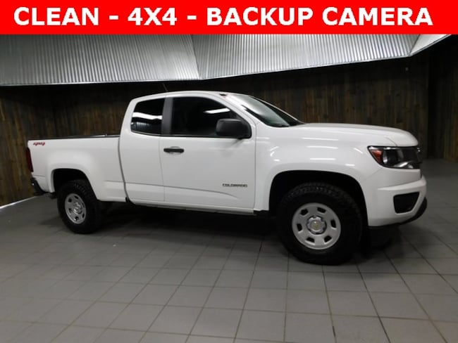 Used 2016 Chevrolet Colorado WT Truck Extended Cab for Sale in Plymouth, IN at Auto Park Buick GMC