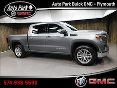 2020 GMC Sierra 1500 SLE Truck Crew Cab 3GTU9BED2LG146219 for Sale in Plymouth, IN at Auto Park Buick GMC