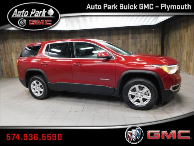 New 2019 GMC Acadia SLE-1 SUV 1GKKNRLA5KZ192697 for Sale in Plymouth, IN at Auto Park Buick GMC