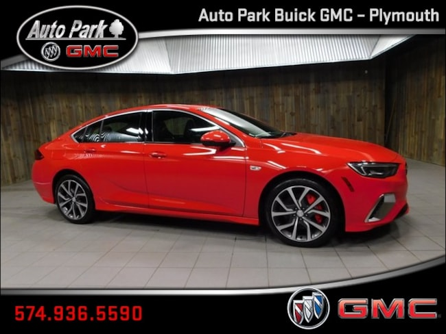 New 2019 Buick Regal Sportback GS Hatchback W04GS6SS4K1019071 for Sale in Plymouth, IN at Auto Park Buick GMC