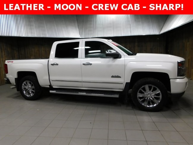 Used 2016 Chevrolet Silverado 1500 High Country Truck Crew Cab for Sale in Plymouth, IN at Auto Park Buick GMC