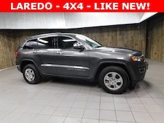 Used 2017 Jeep Grand Cherokee Laredo 4x4 SUV 1C4RJFAG6HC609820 for Sale in Plymouth, IN at Auto Park Buick GMC