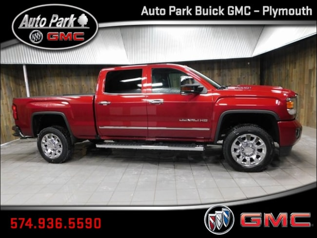New 2019 GMC Sierra 2500HD Denali Truck Crew Cab 1GT12SEY9KF200383 for Sale in Plymouth, IN at Auto Park Buick GMC