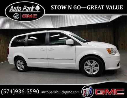 Used 2014 Dodge Grand Caravan Crew Minivan/Van for sale in Plymouth, IN at Auto Park Buick GMC