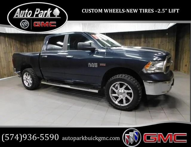 Used 2018 Ram 1500 Big Horn Truck Crew Cab for sale in Plymouth, IN at Auto Park Buick GMC
