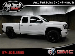 New 2018 GMC Sierra 1500 Base Truck Double Cab 1GTV2LEC2JZ259395 for Sale in Plymouth, IN at Auto Park Buick GMC