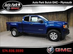 New 2019 GMC Canyon Base Truck Extended Cab 1GTH6BEN6K1182835 for Sale in Plymouth, IN at Auto Park Buick GMC