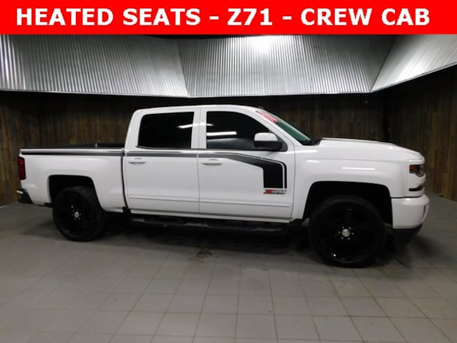 Used 2016 Chevrolet Silverado 1500 LT Truck Crew Cab for Sale in Plymouth, IN at Auto Park Buick GMC