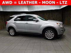 Used 2011 Chevrolet Equinox LTZ SUV 2CNFLGEC2B6354346 for Sale in Plymouth, IN at Auto Park Buick GMC