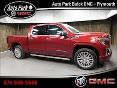 New 2019 GMC Sierra 1500 Denali Truck Crew Cab 1GTU9FEL6KZ300170 for Sale in Plymouth, IN at Auto Park Buick GMC