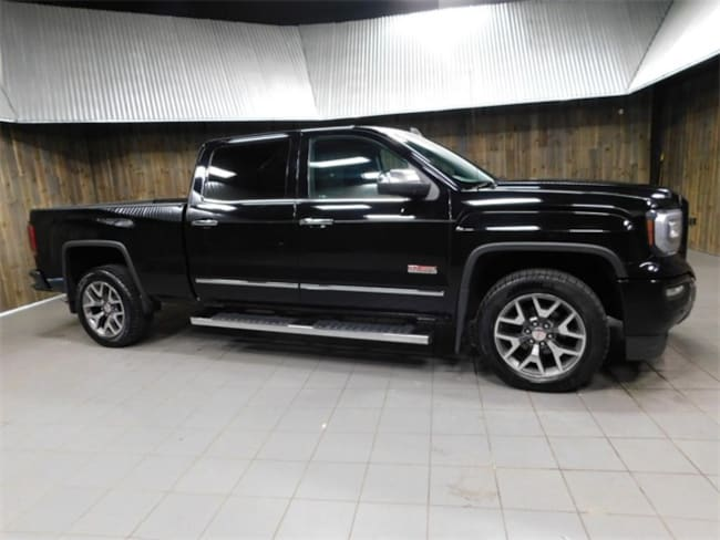 Used 2016 GMC Sierra 1500 SLT Truck Crew Cab for Sale in Plymouth, IN at Auto Park Buick GMC
