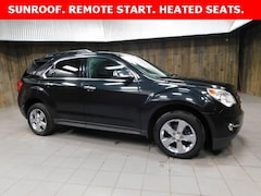 Used 2013 Chevrolet Equinox 2LT SUV 2GNFLPE3XD6107011 for Sale in Plymouth, IN at Auto Park Buick GMC