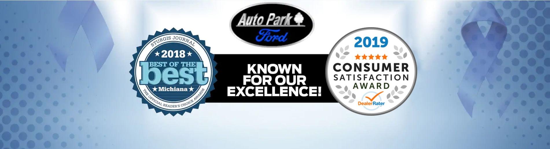 Auto Park Ford Sturgis Mi >> New 2019 Ford Used Car Dealer In Sturgis Mi Serving Three