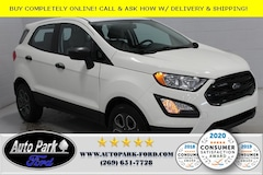 New 2020 Ford EcoSport S Crossover MAJ3S2FE7LC341491 for sale in Bremen, IN