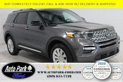 New 2020 Ford Explorer Limited SUV 1FMSK8FH8LGB92340 for sale in Bremen, IN