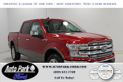 New 2020 Ford F-150 Lariat Truck 1FTEW1E44LFA48074 for sale in Bremen, IN