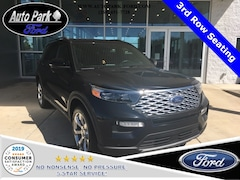 New 2020 Ford Explorer Platinum SUV 1FM5K8HC6LGA44296 for sale in Bremen, IN