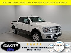 New 2020 Ford F-150 Lariat Truck 1FTEW1E42LFA37252 for sale in Bremen, IN