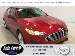 New 2020 Ford Fusion SE Sedan for Sale in Sturgis, MI