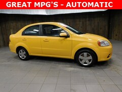 Used 2011 Chevrolet Aveo 1LT Automatic - Excellent MPGS Sedan KL1TD5DE8BB138050 for Sale in Plymouth, IN at Auto Park Buick GMC