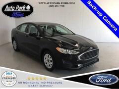 2020 Ford Fusion S Sedan 3FA6P0G78LR125587 in Sturgis, MI