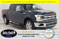 New 2020 Ford F-150 Lariat Truck 1FTEW1E58LFB55279 for sale in Bremen, IN