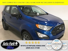 New 2020 Ford EcoSport S Crossover for Sale in Sturgis, MI