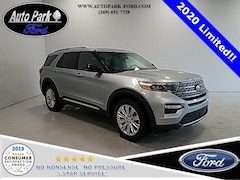 New 2020 Ford Explorer Limited SUV 1FMSK8FH2LGA90905 for sale in Bremen, IN