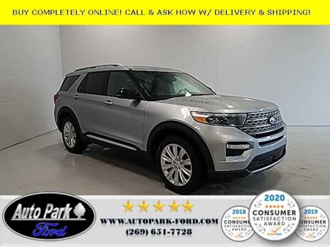 New 2020 Ford Explorer Limited SUV for sale in Bremen, IN